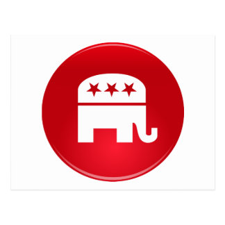 Republican Party Logo Postcards