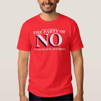 Republican Party of NO T-shirt