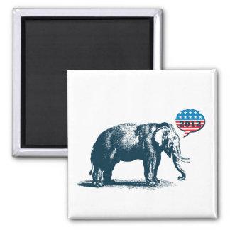 Republican Patriotic GOP 2012 Elephant Magnet