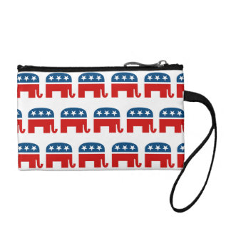 REPUBLICAN PATTERN.png Coin Purse