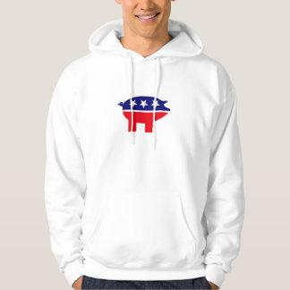 Republican pig hoodie