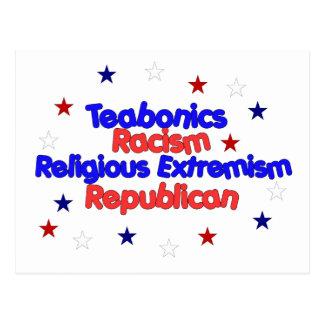 Republican Platform Postcard