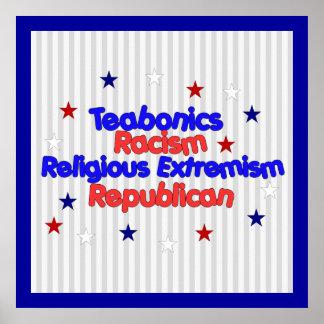 Republican Platform Poster