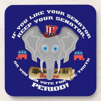 Republican Politics Drink Coaster