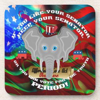 Republican Politics  Memorabilia Beverage Coaster