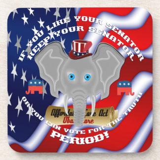 Republican Politics  Memorabilia Coaster