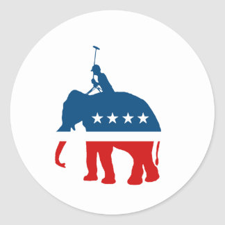 Republican Polo Stickers