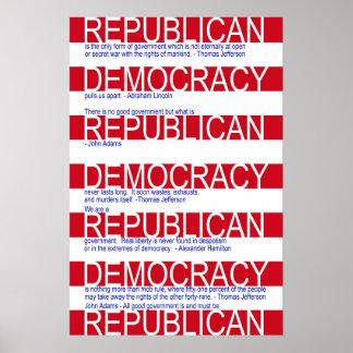Republican Poster