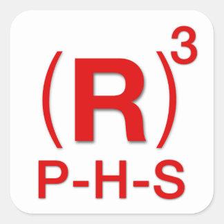 Republican President, House and Senate Square Sticker