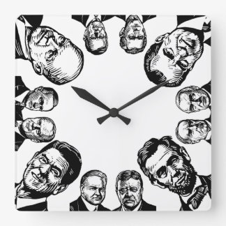 Republican Presidents Wall Clock