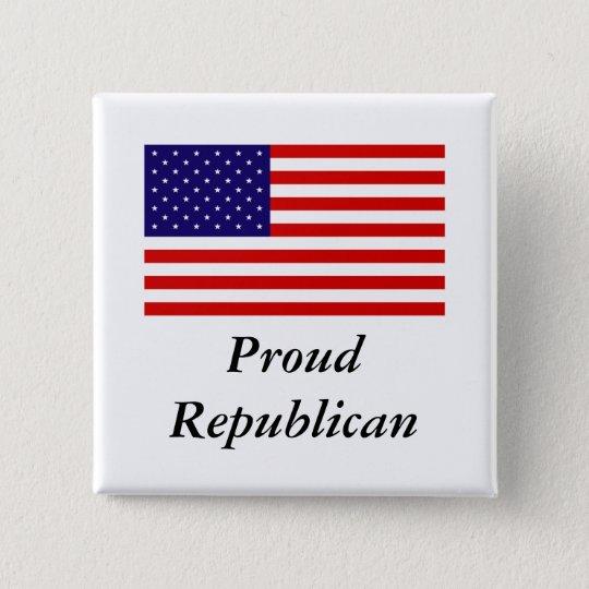 Republican Pride Pinback Button