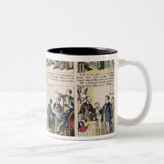 Republican propaganda Two-Tone coffee mug
