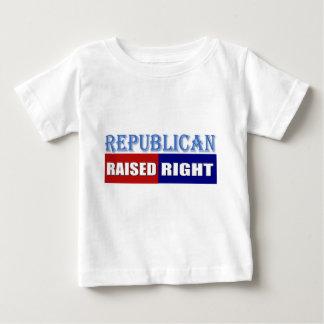 REPUBLICAN - RAISED RIGHT INFANT T-SHIRT
