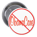 Republican Remember In November Anti ObamaCare 3 Inch Round Button