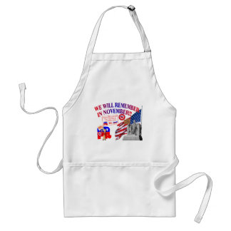 Republican Remember In November Anti ObamaCare Adult Apron