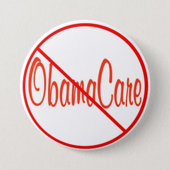 Republican Remember In November Anti Obamacare Pinback Button by 4westies at Zazzle