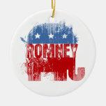 Republican ROMNEY Christmas Tree Ornaments