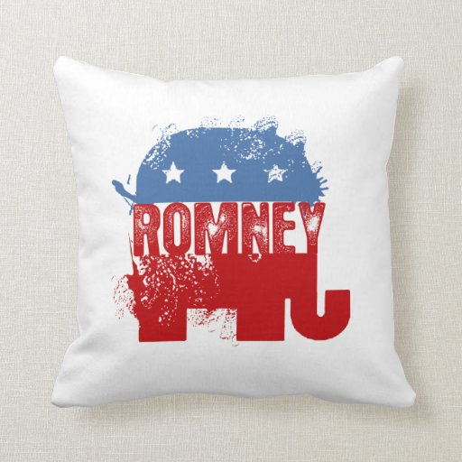 Republican ROMNEY Pillows
