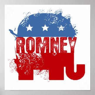 Republican ROMNEY Print