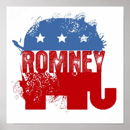Republican ROMNEY Poster