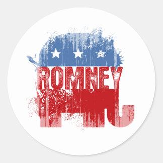Republican ROMNEY Round Sticker