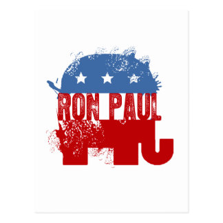 REPUBLICAN RON PAUL POSTCARD