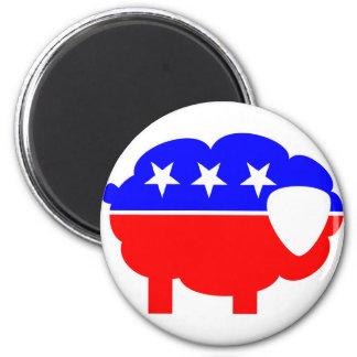 Republican Sheep Magnet
