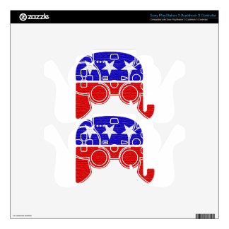 REPUBLICAN SKIN FOR PS3 CONTROLLER