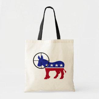 Republican Sniper Head Shot Canvas Bag