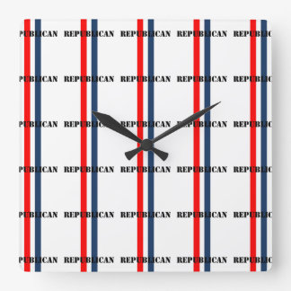Republican Square Wall Clock