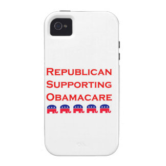 Republican Supporting Obamacare iPhone 4/4S Cover