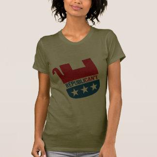 Republican t camiseta