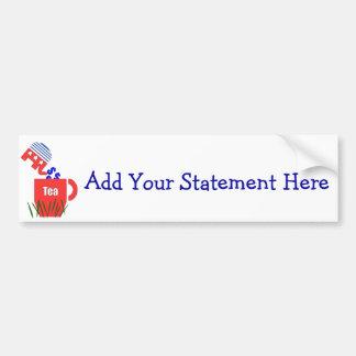 Republican Tea Bumper Sticker