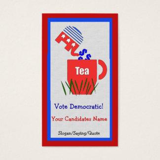 Republican Tea Business Card
