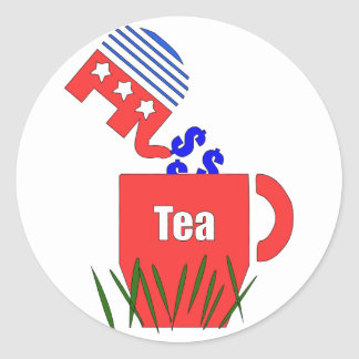 Republican Tea Stickers