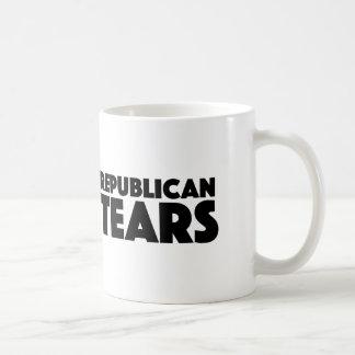 Republican Tears Pro Democrats Hilary Clinton Mug