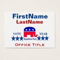 Republican Templates Business Card