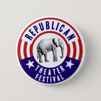 Republican Theater Festival Vintage Button