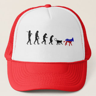 Republican Theory of Devolution Trucker Hat