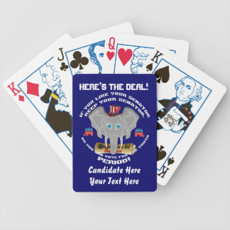 Republican This Design is Copyright 52 Handouts! Bicycle Playing Cards