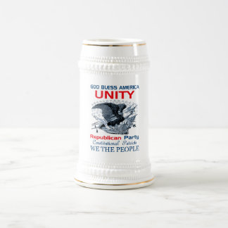 Republican Unity Beer Stein