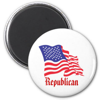 Republican/USA/American Flag Magnet