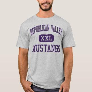 Republican Valley - Mustangs - Junior - Indianola T-Shirt