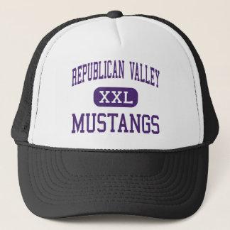 Republican Valley - Mustangs - Junior - Indianola Trucker Hat