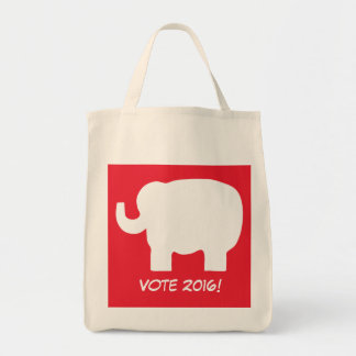 Republican Vote 2016 Election Elephant Red Tote