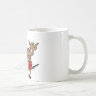 Republican-vs-Democrat cartoon Classic White Coffee Mug