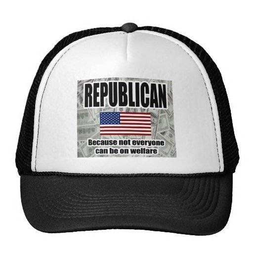 Republican Welfare Hat