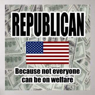 Republican Welfare Poster