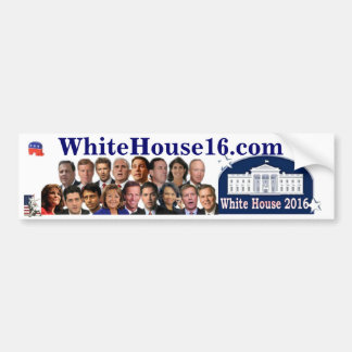 Republican White House 2016 Bumper Sticker