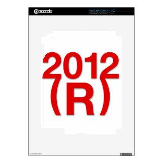 Republican Win in 2012 Skin For iPad 2